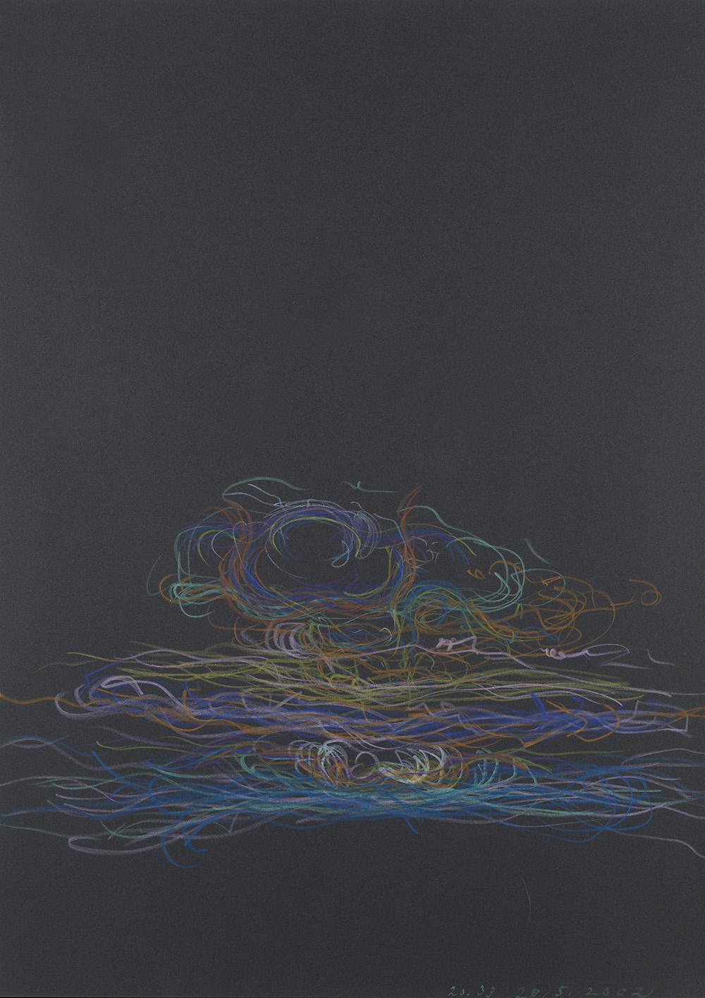 Tomáš Lampar    Untitled  , 2002 Color pencil on paper 16.54 x 11.61 inches 42 x 29.5 cm TLa 7