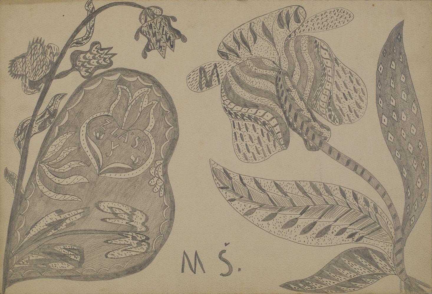 Josefa Štěpánková    Untitled  , 1920s Pencil on paper 11.81 x 17.32 inches 30 x 44 cm JoSt 5