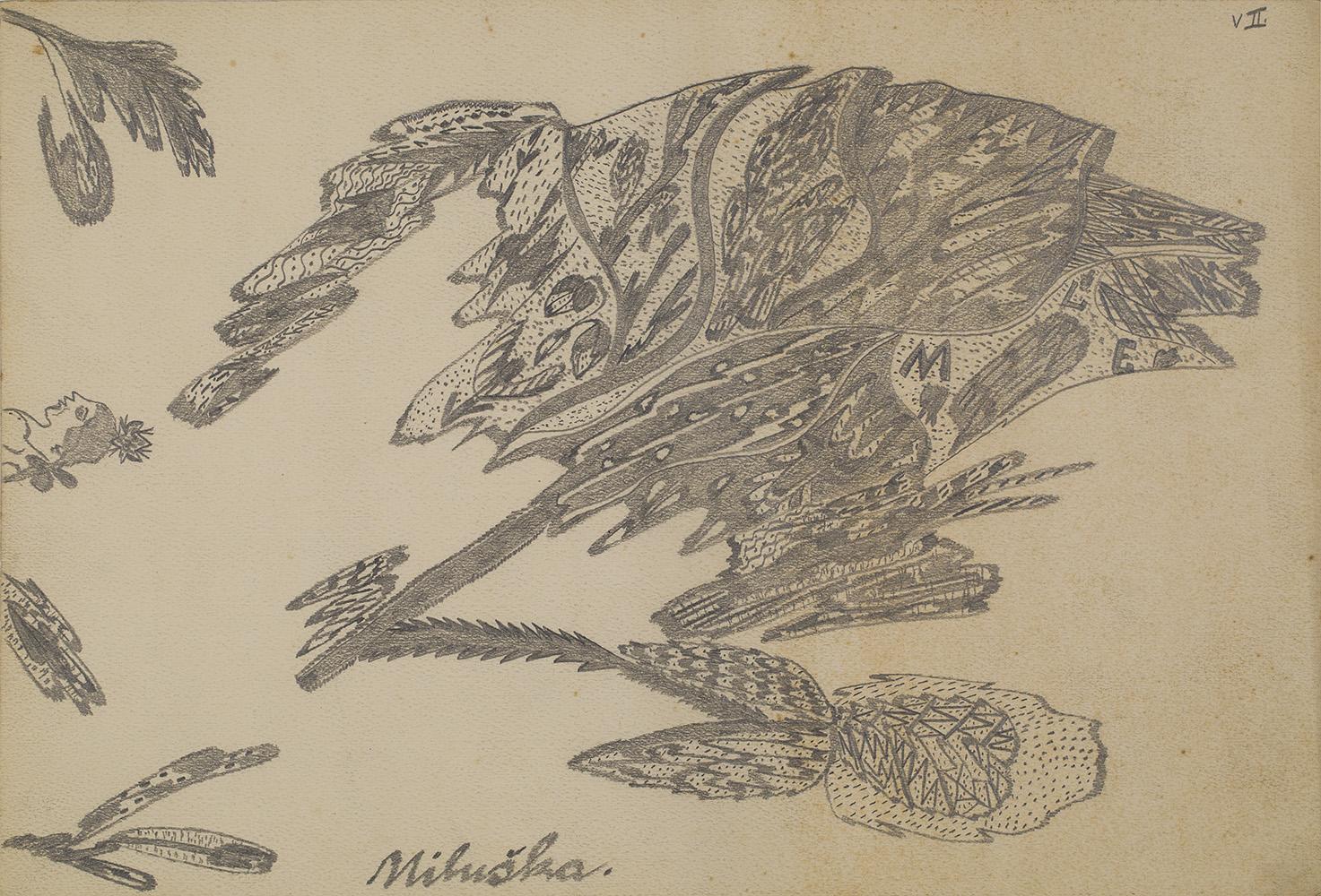 Josefa Štěpánková    Untitled  , 1920s Pencil on paper 11.81 x 17.32 inches 30 x 44 cm JoSt 6