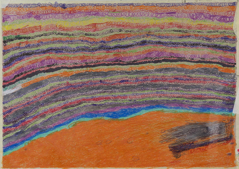 Joseph Lambert    Untitled  , 2015 Mixed media on paper 11.69 x 16.54 inches 29.7 x 42 cm JLam 12