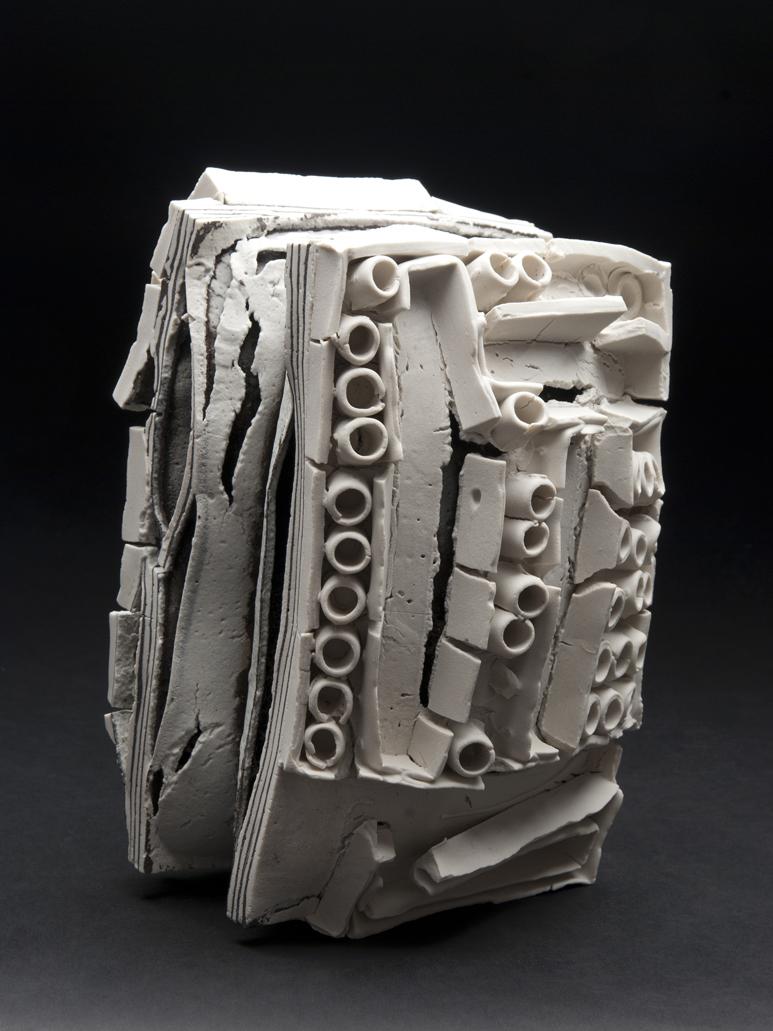 Rafa Perez    Untitled  , 2011 Ceramic 6 x 8.5 x 5.5 inches 15.2 x 21.6 x 14 cm RPe 5