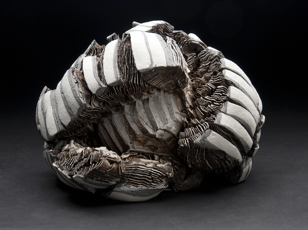Rafa Perez    Untitled  , 2011 Ceramic 5.5 x 8 x 8 inches 14 x 20.3 x 20.3 cm RPe 23