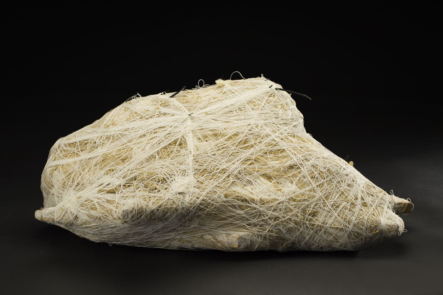 Tony Pedemonte    Untitled  , 2012 Fiber and wood 9 x 24 x 17 inches 22.9 x 61 x 43.2 cm TPed 16