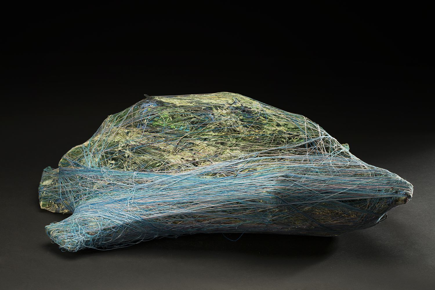 Tony Pedemonte    Untitled  , 2016 Fiber and wood 9 x 22 x 28 inches 22.9 x 55.9 x 71.1 cm TPed 23