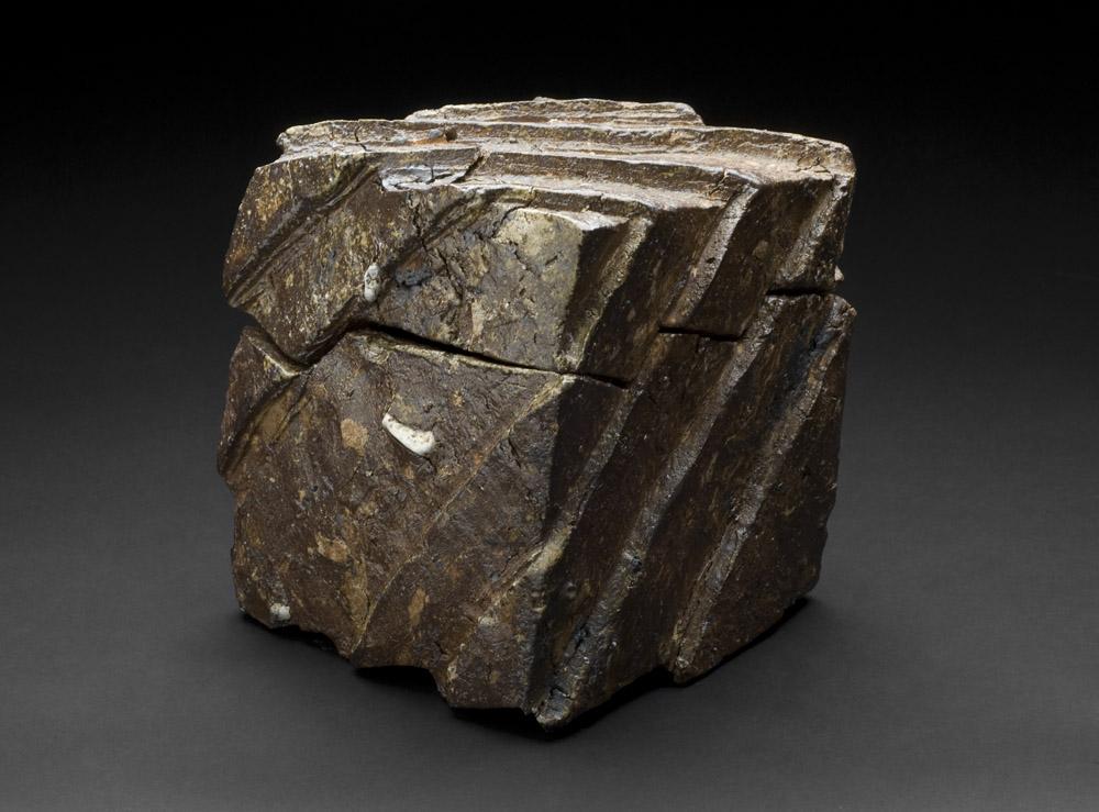 Tim Rowan    Untitled  , n.d. Woodfired ceramic 8 x 7.5 x 9 inches 20.3 x 19.1 x 22.9 cm TR 118