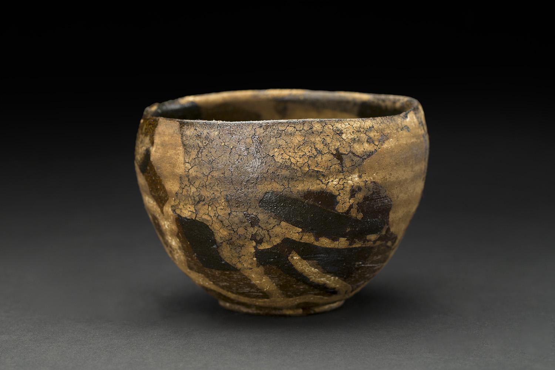 Akihiro Nikaido    Chawan  , 2016 Ceramic with laquer 3 x 4 x 4 inches 7.6 x 10.2 x 10.2 cm ANk 51