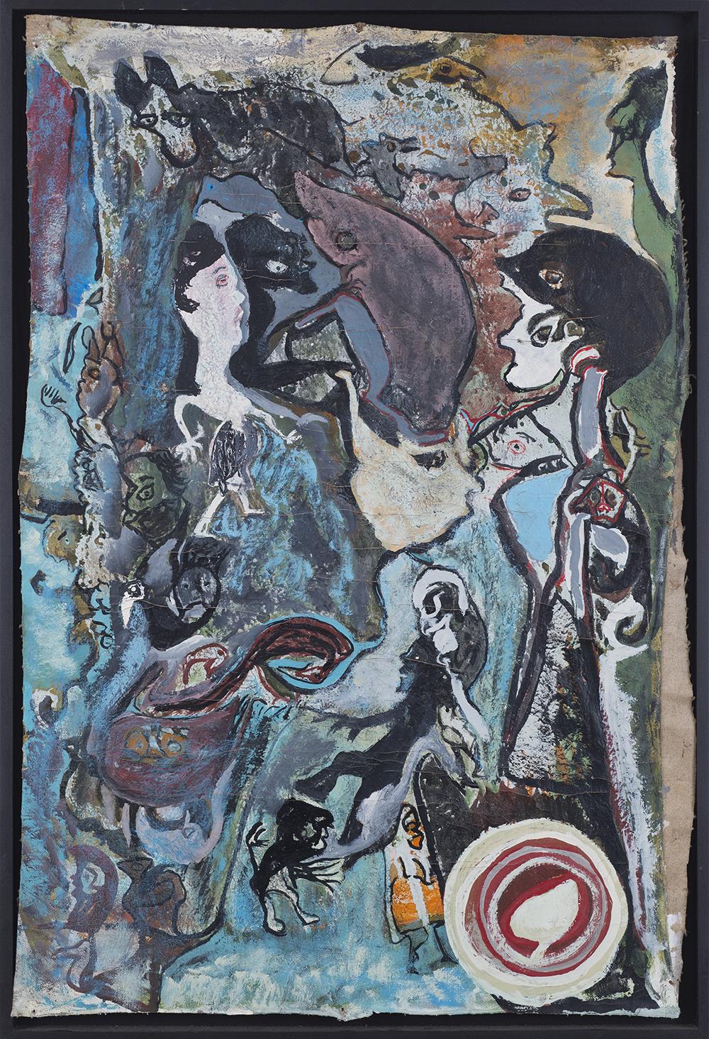 Leonard Daley Helmet, 1991 Oil on canvas 26.5 x 17.5 inches 67.3 x 44.5 cm LE 33