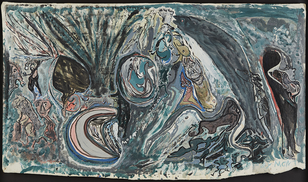 Leonard Daley Murray Mountain, 1993 Oil on canvas 31 x 52.5 inches 78.7 x 133.4 cm LE 29