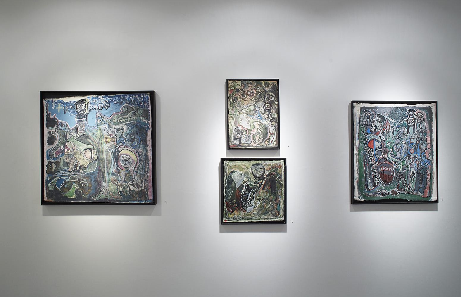 Tomáš Lampar,   Untitled  , 1999,,Watercolor on paper,11.81 x 16.54 inches,30 x 42 cm,TLa 24