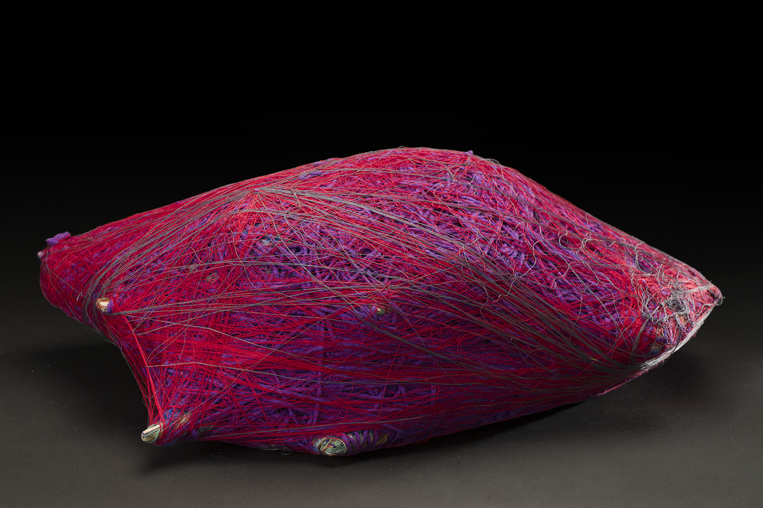 Tony Pedemonte Untitled, 2014 Fiber and wood 8 x 12 x 23 inches 20.3 x 30.5 x 58.4 cm TPed 20