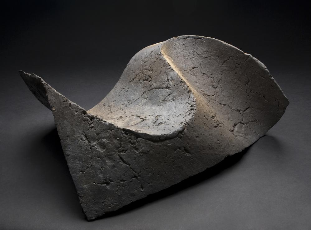 Yukiya Izumita    Dune Waves No. 2  , 2011 Ceramic 26 x 22 x 12 inches 66 x 55.9 x 30.5 cm YIz 1