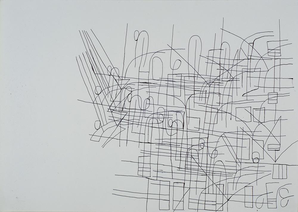 Tomohiro Nishiyama    Untitled  , n.d. Ink on paper 10.5 x 15 inches 26.7 x 38.1 cm TNi 22