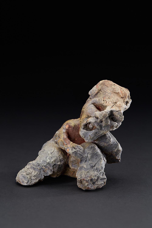 Chrissy Callas    Broken  , 1990 Ceramic 4 x 4 x 3.5 inches 10.2 x 10.2 x 8.9 cm CCa 22