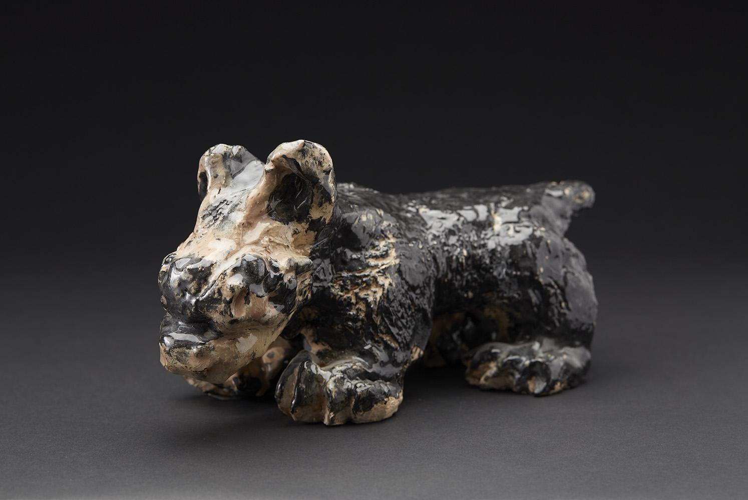 David Parsons    Untitled  , 2015 Ceramic 5 x 4 x 10 inches 12.7 x 10.2 x 25.4 cm DPa 2