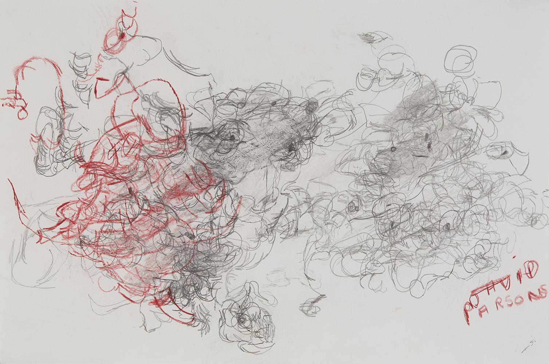 David Parsons    Untitled  , 2016 Prismacolor, graphite on paper 12 x 18 inches 30.5 x 45.7 cm DPa 9