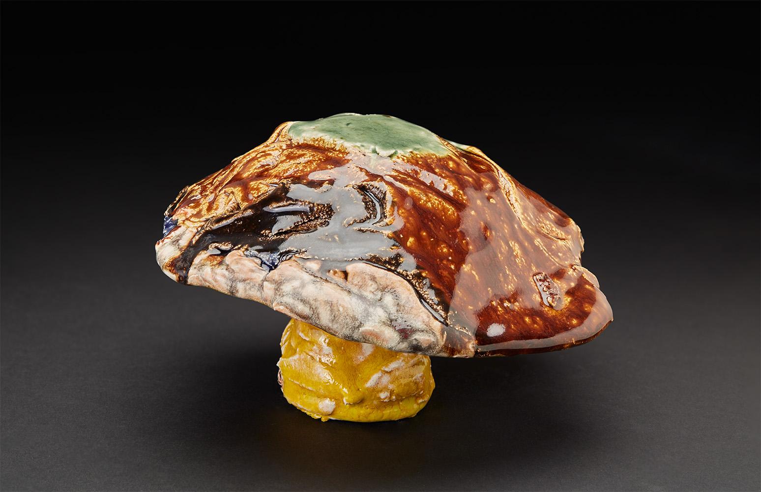 Straiph Wilson    Gusion  , 2016 Ceramic 4 x 6 x 6 inches 10.2 x 15.2 x 15.2 cm StWi 9