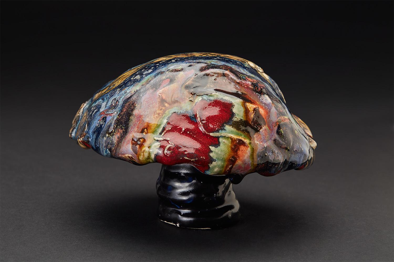 Straiph Wilson    Armany  , 2017 Ceramic 4.5 x 6 x 6.5 inches 11.4 x 15.2 x 16.5 cm StWi 15