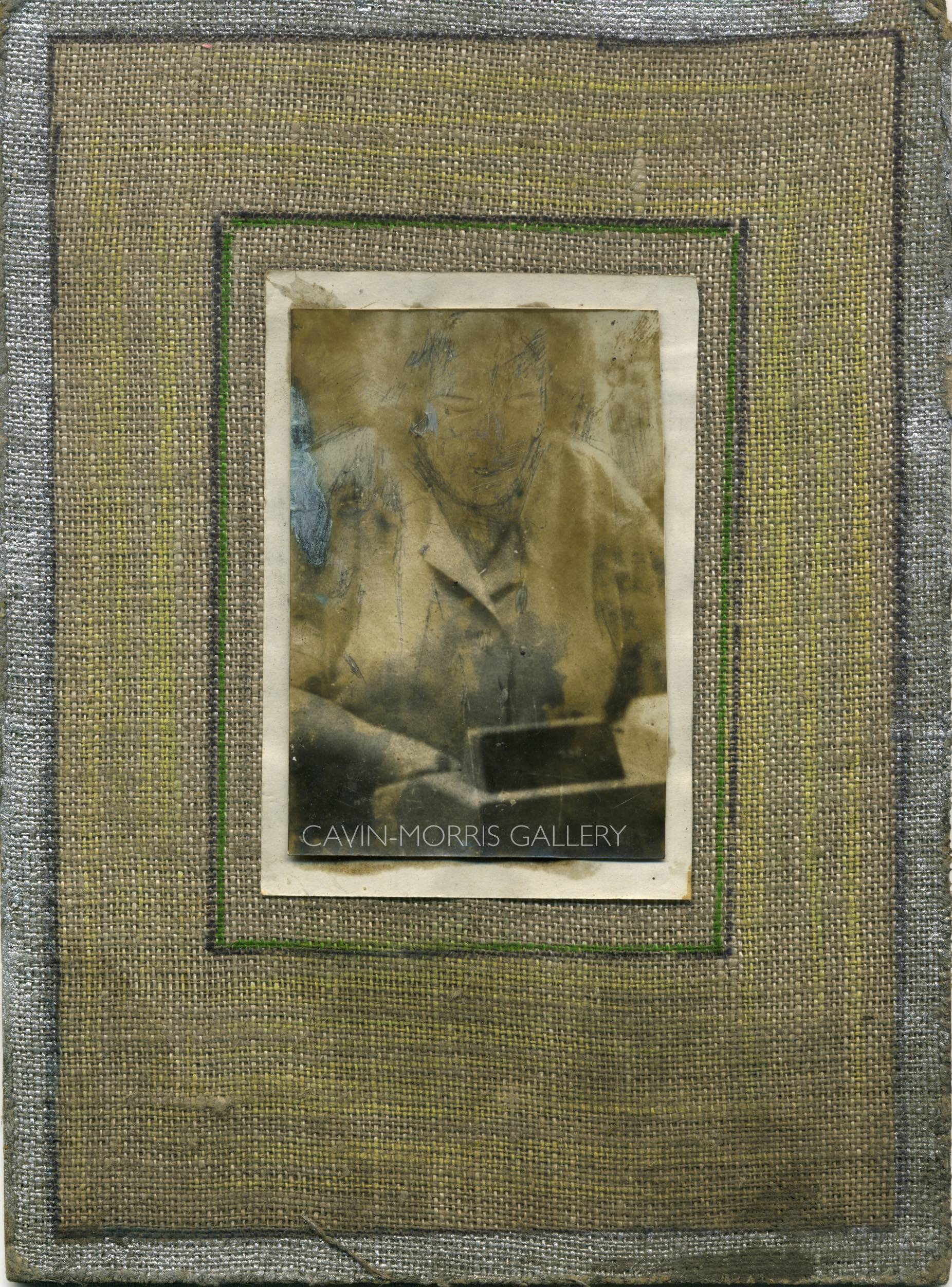 Miroslav Tichý    Untitled  , 1960s-1980s Gelatin silver print 8.66 x 6.3 inches 22 x 16 cm MTi 53