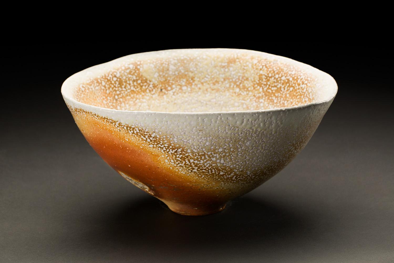 Gail Nichols    Bowl  , 2005 Soda glaze stoneware 6.25 x 13 x 12 inches 15.9 x 33 x 30.5 cm GaN 18