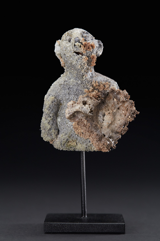 Chrissy Callas    Fragman  , 2010 Ceramic 5 x 2.5 x 1.5 inches 12.7 x 6.4 x 3.8 cm CCa 23