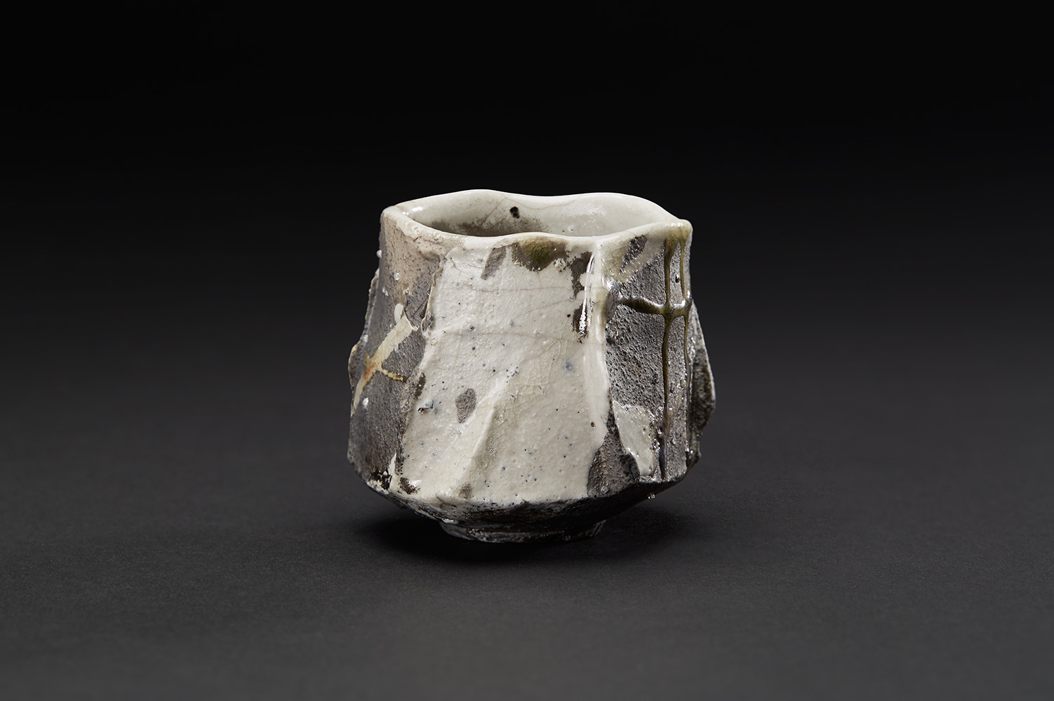 Akira Satake    Guinomi  , n.d. Ceramic 2.5 x 2.5 x 2.75 inches 6.4 x 6.4 x 7 cm ASa 31