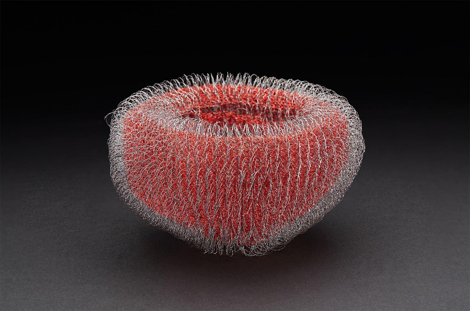 Mieko Kawase  Red 3  , 2017 Wire 4 x 7 x 7 inches 10.2 x 17.8 x 17.8 cm MKe 12