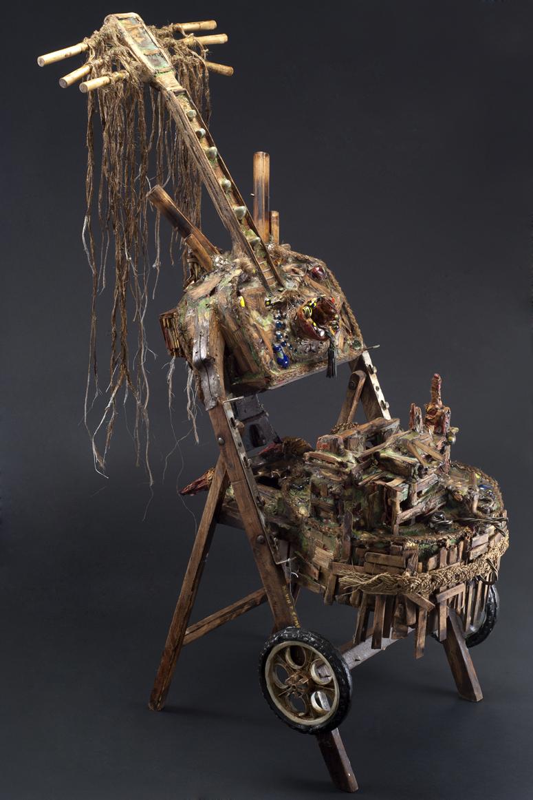 Kevin Sampson  Venezia-African Jack  , 2012 Mixed media 50.5 x 38 x 22.5 inches 128.3 x 96.5 x 57.2 cm SK 193