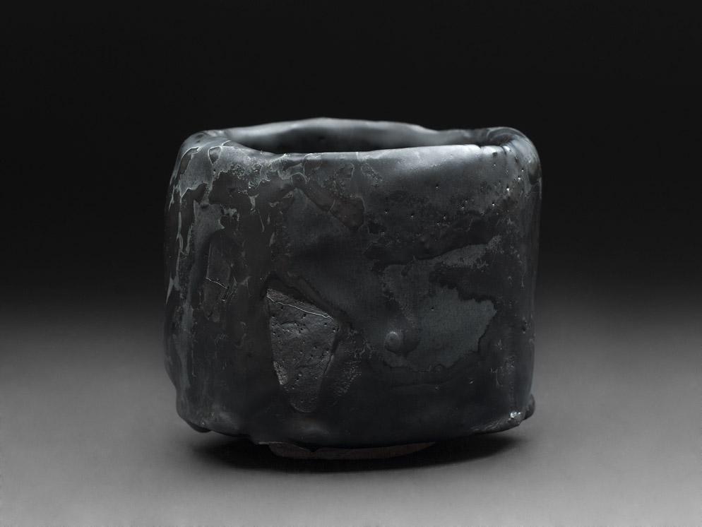 Robert Fornell  Chawan  , 2012 Ceramic 4.8 x 4 x 4.25 inches 12.2 x 10.2 x 10.8 cm RFo 67