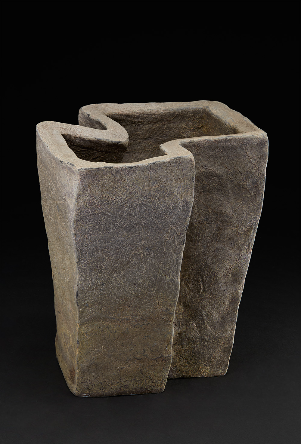 Tim Rowan  Untitled  , 2004 Fired ceramic 10 x 11 x 8 inches 25.4 x 27.9 x 20.3 cm TR 7