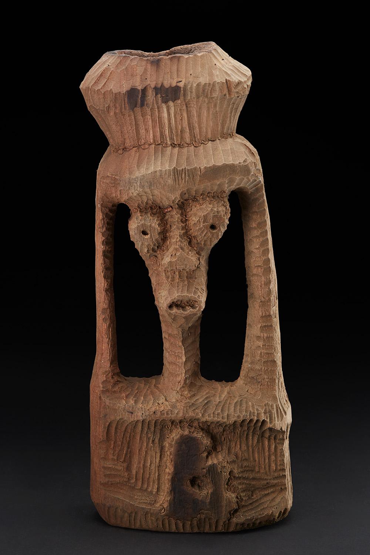 Vincent Atherton  Vessel  , 1980s Cedar 20 x 8 x 4 inches 50.8 x 20.3 x 10.2 cm ViA 20