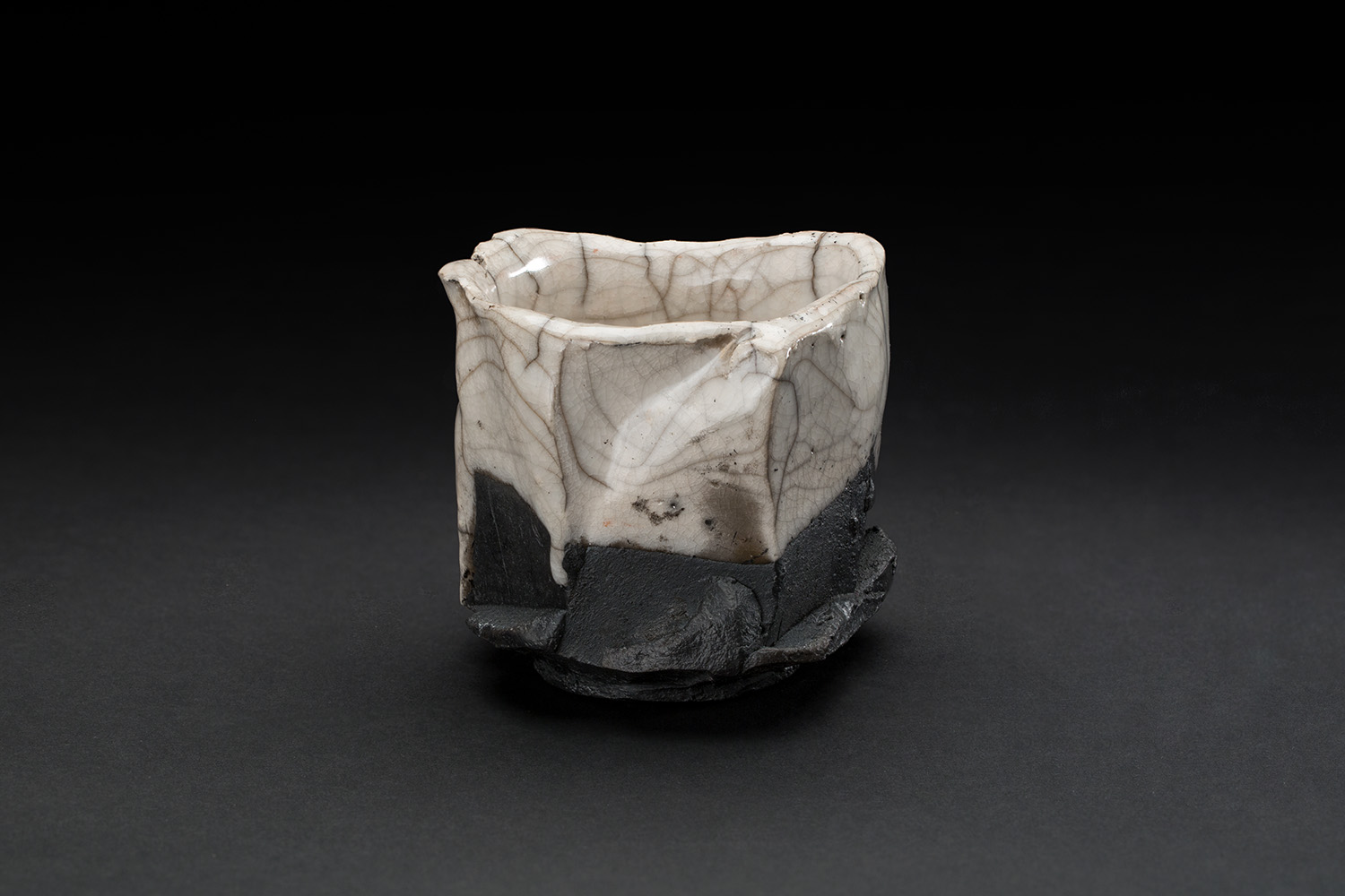 Chris Rond  Duo  , 2018 Ceramic 3 x 3 x 3 inches 7.6 x 7.6 x 7.6 cm CRo 4