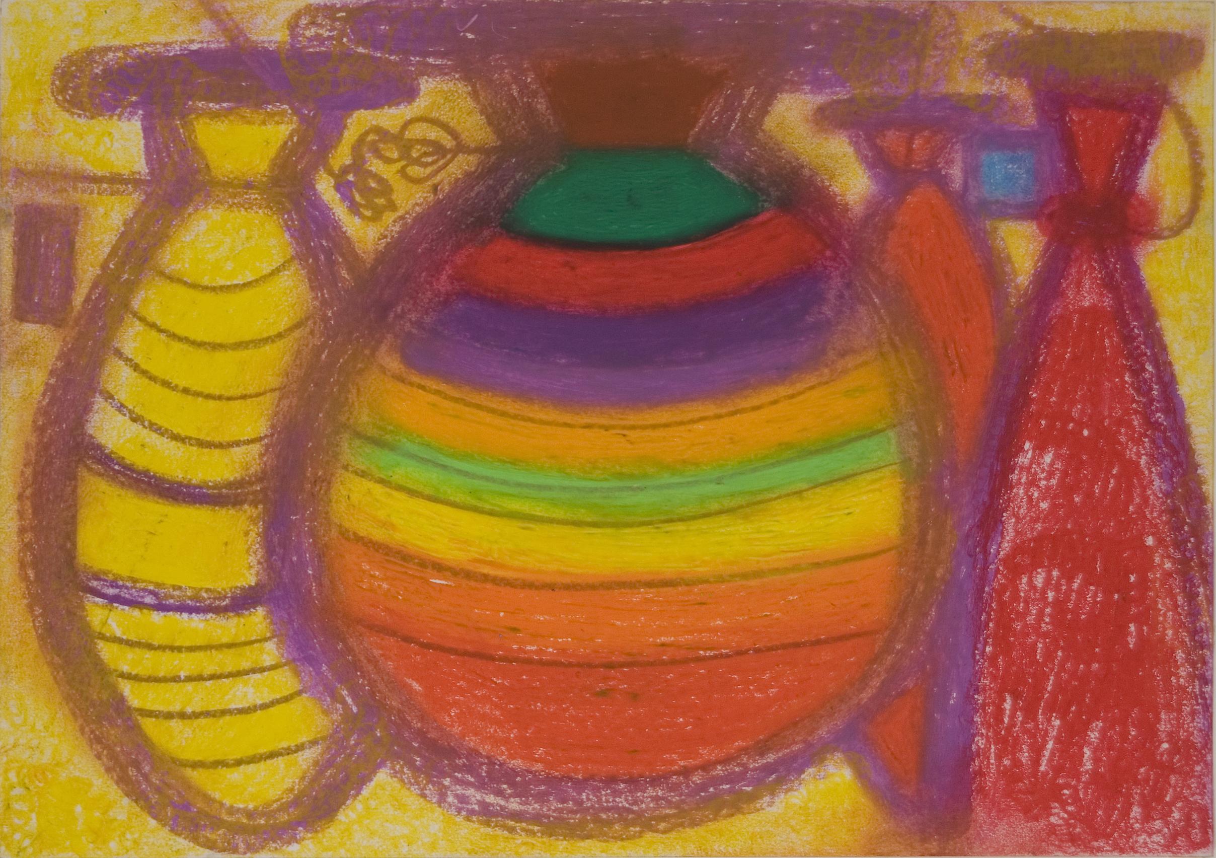 Keigo Mitsui  Balloon  , 2002 Crayon, paper 21.25 x 15 inches 54 x 38.1 cm KeM 9