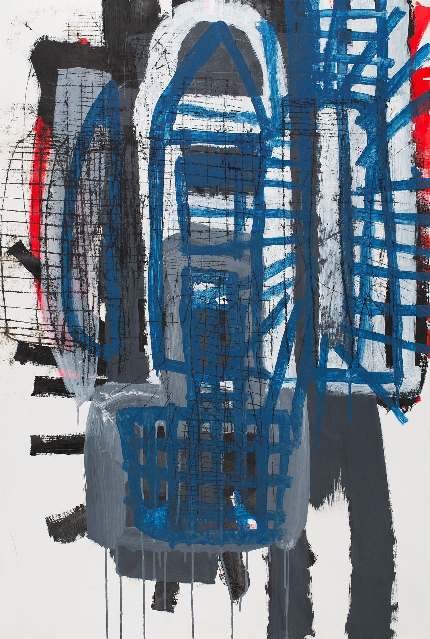 Philippe Da Fonseca  Untitled  , 2009 Mixed media on paper 43.31 x 28.74 inches 110 x 73 cm PDF 9