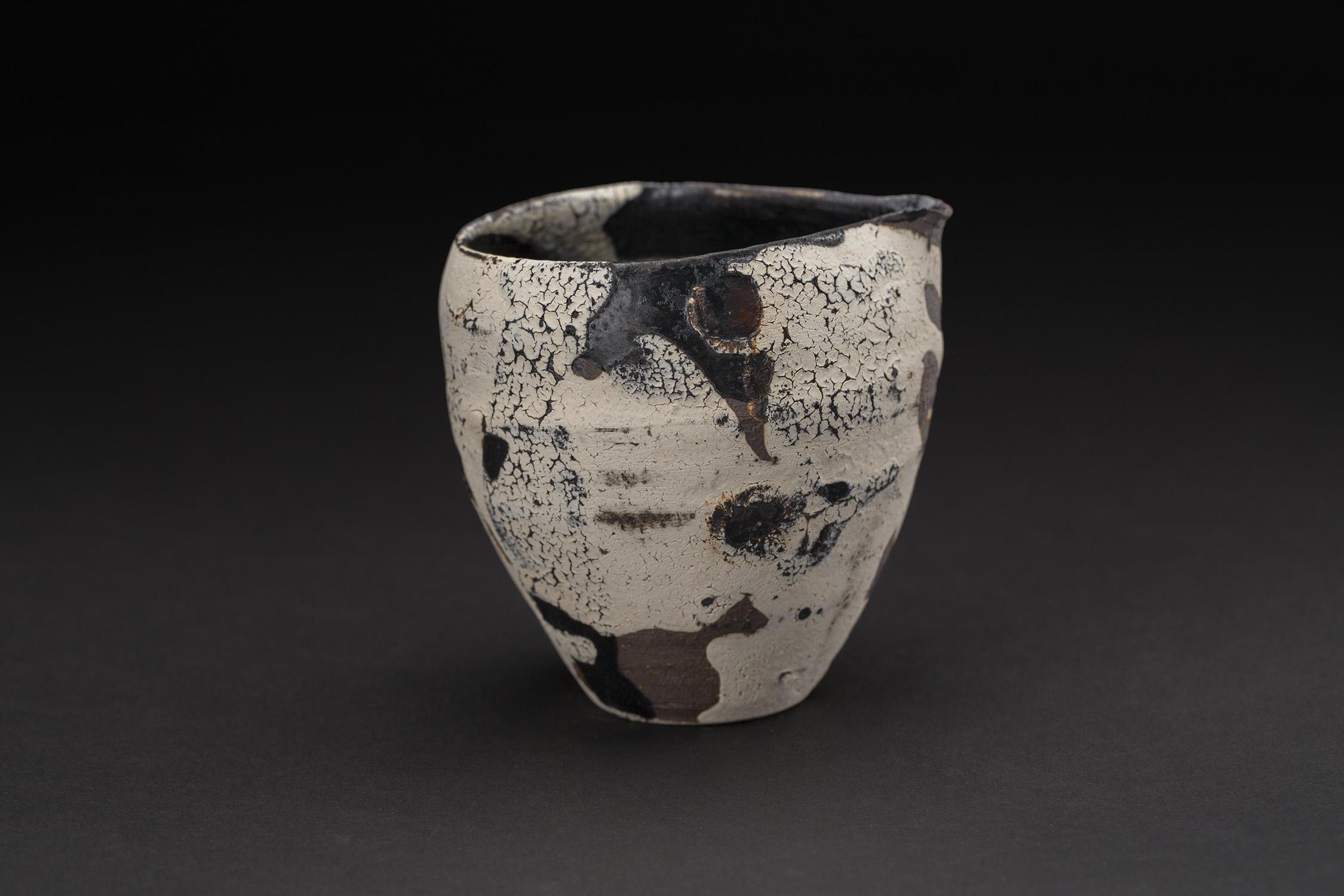 Akihiro Nikaido  Katakuchi  , 2019 Ceramic 3.5 x 3.75 x 3 inches 8.9 x 9.5 x 7.6 cm ANk 85