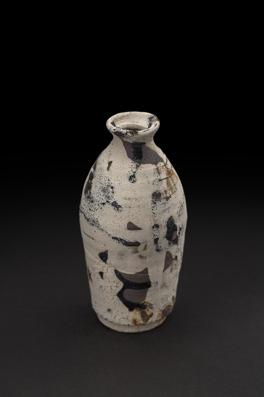 Akihiro Nikaido  Tokkuri  , 2019 Ceramic 5.5 x 2.5 x 2.5 inches 14 x 6.4 x 6.4 cm ANk 93