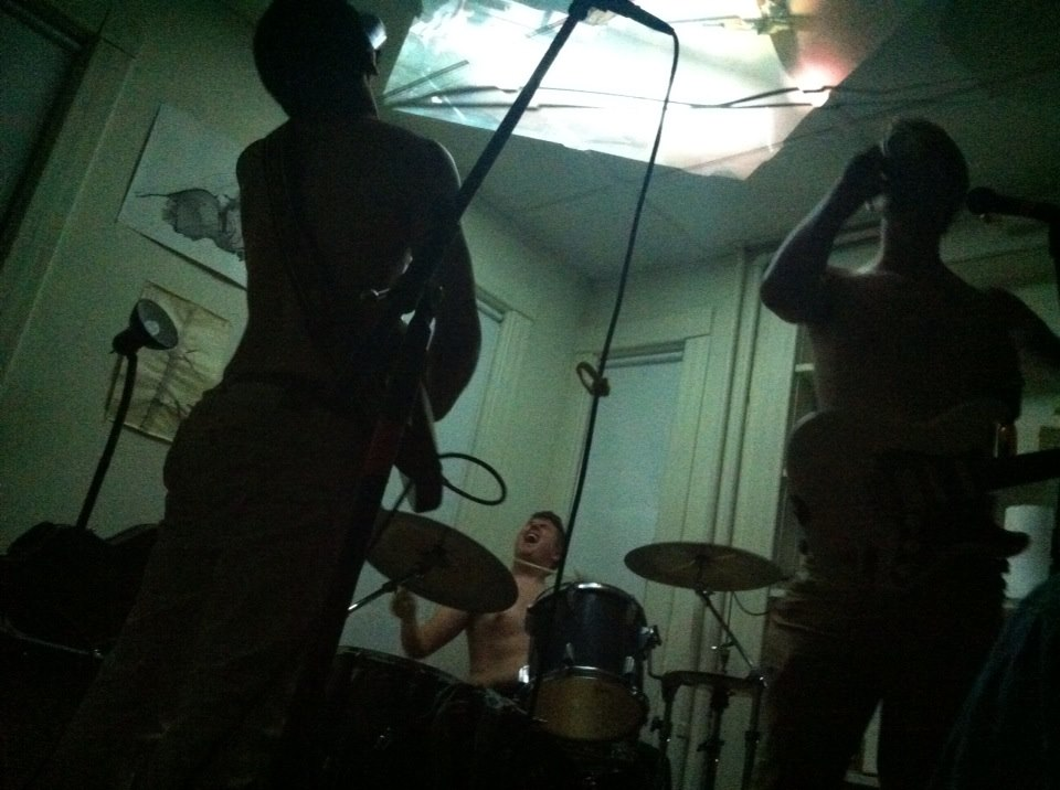 Living Room show at Big Burb, May 2013