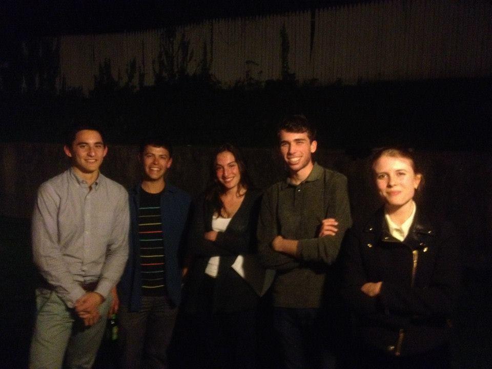 Sean Winnik, Rob Roth, Kate Weiner, Mark Duralde, Faith Harding.