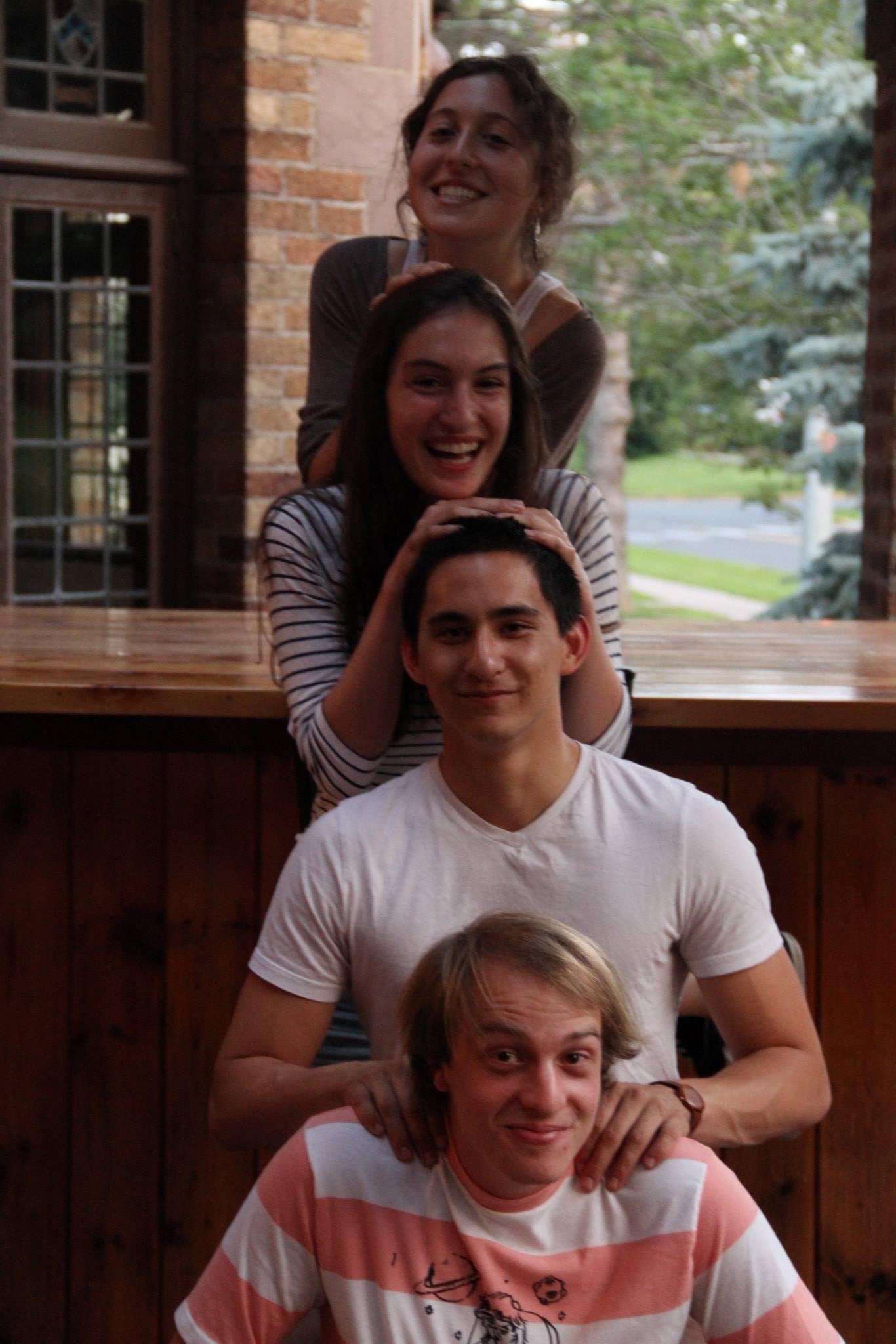 Lily Myers, Kate Weiner, Sean Winnik Tennessee Mowrey