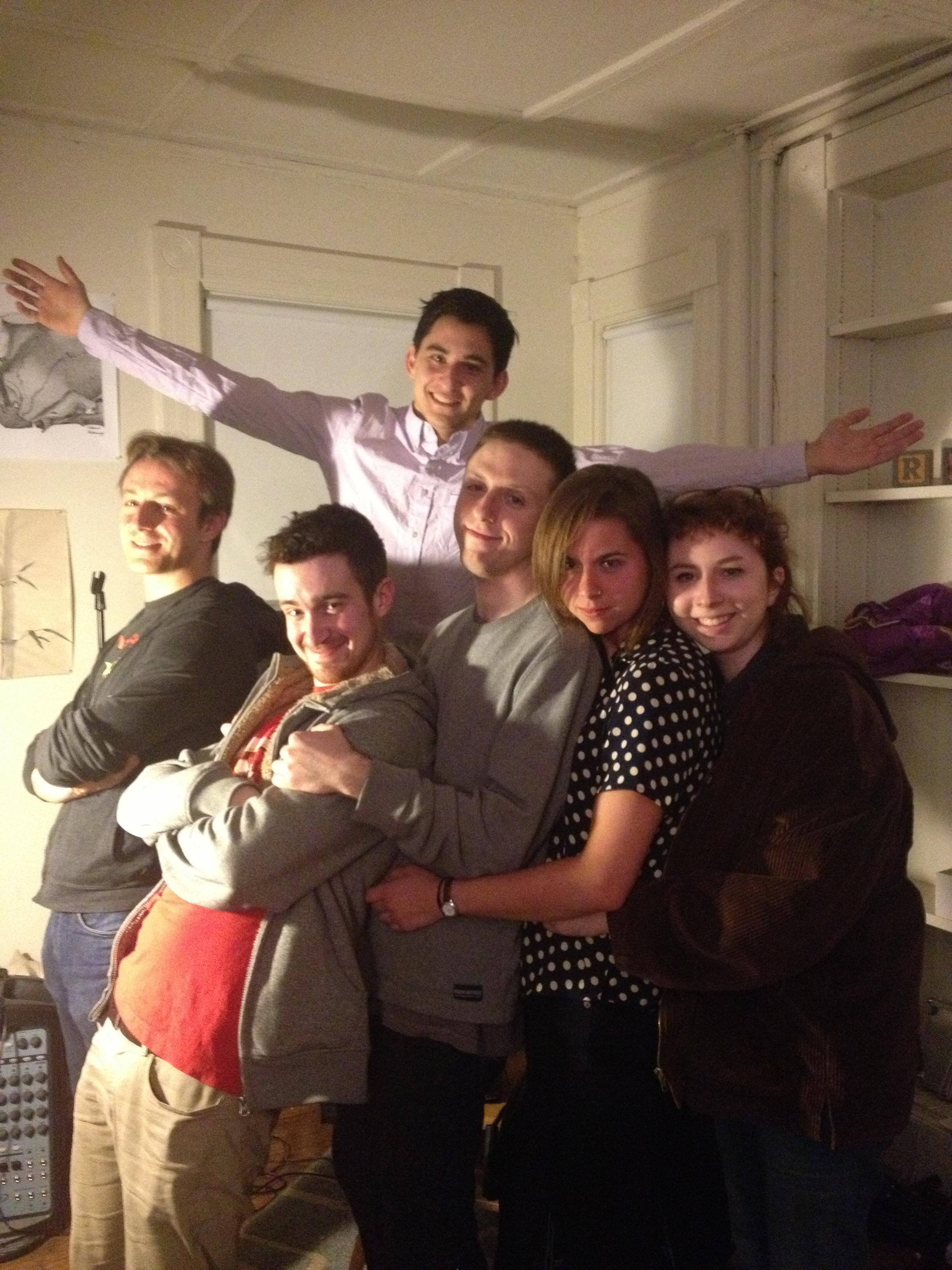 Sam Dickey, Sam Sontag, John Ryan, Kate Gibbel, Amy Mattox