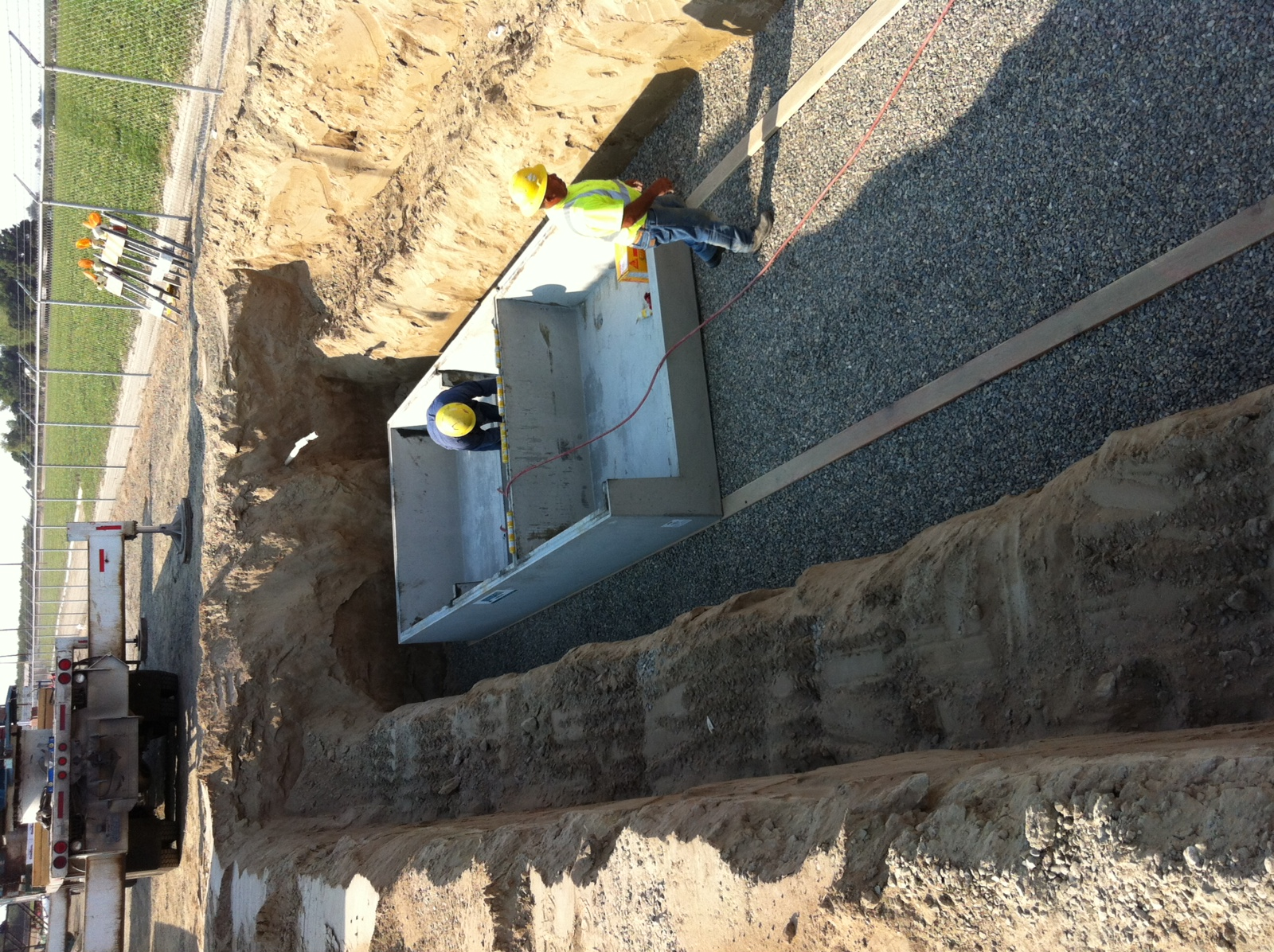 8,000 gallon septic tank by Applegate Septic & Sewer