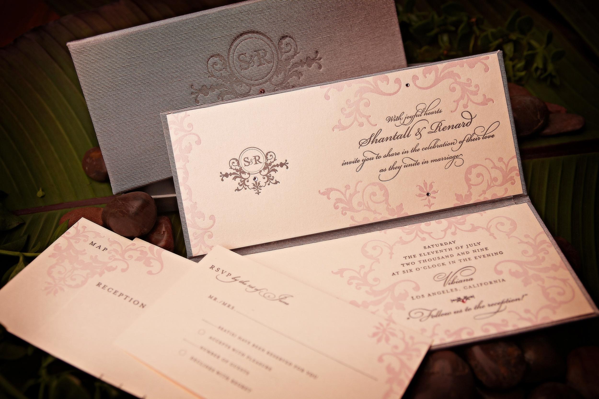 Tangé Design Custom Wedding Invitations Weddings Birthdays