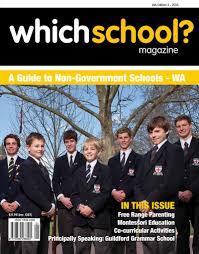 Which School Magazine WA