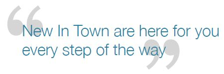 New In Town Tagline