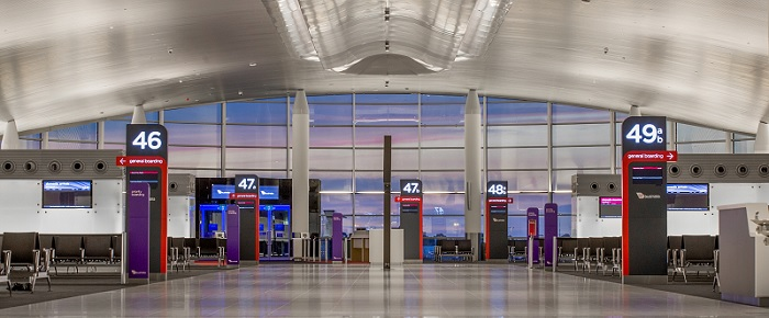 Terminal 1 (T1) Perth Airport (All International Services)