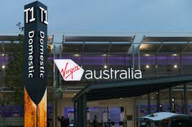 Terminal 1 (T1) Perth Airport (Virgin Australia's international,interstate, and some regional services).