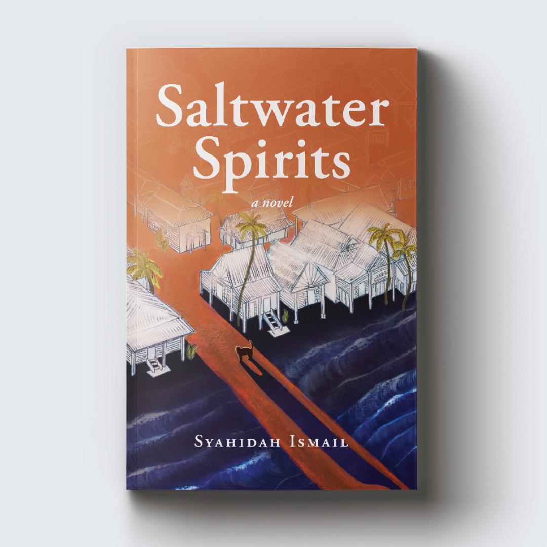 Saltwater Spirits   is a groundbreaking work of fiction written by the only Singaporean author of Malay descent in the diaspora. It is  Syahidah Ismail's  debut novel.  In the idyllic seaside village of Kampung Rhu, a life rooted in tradition and ritual promises cohesion, beauty, and happiness. Norma, a spirited young seamstress who lives in the village with her father, stepmother, and noisy neighbors, dreams of freedom.   Saltwater Spirits  is available on  Amazon  and on the  author's website .