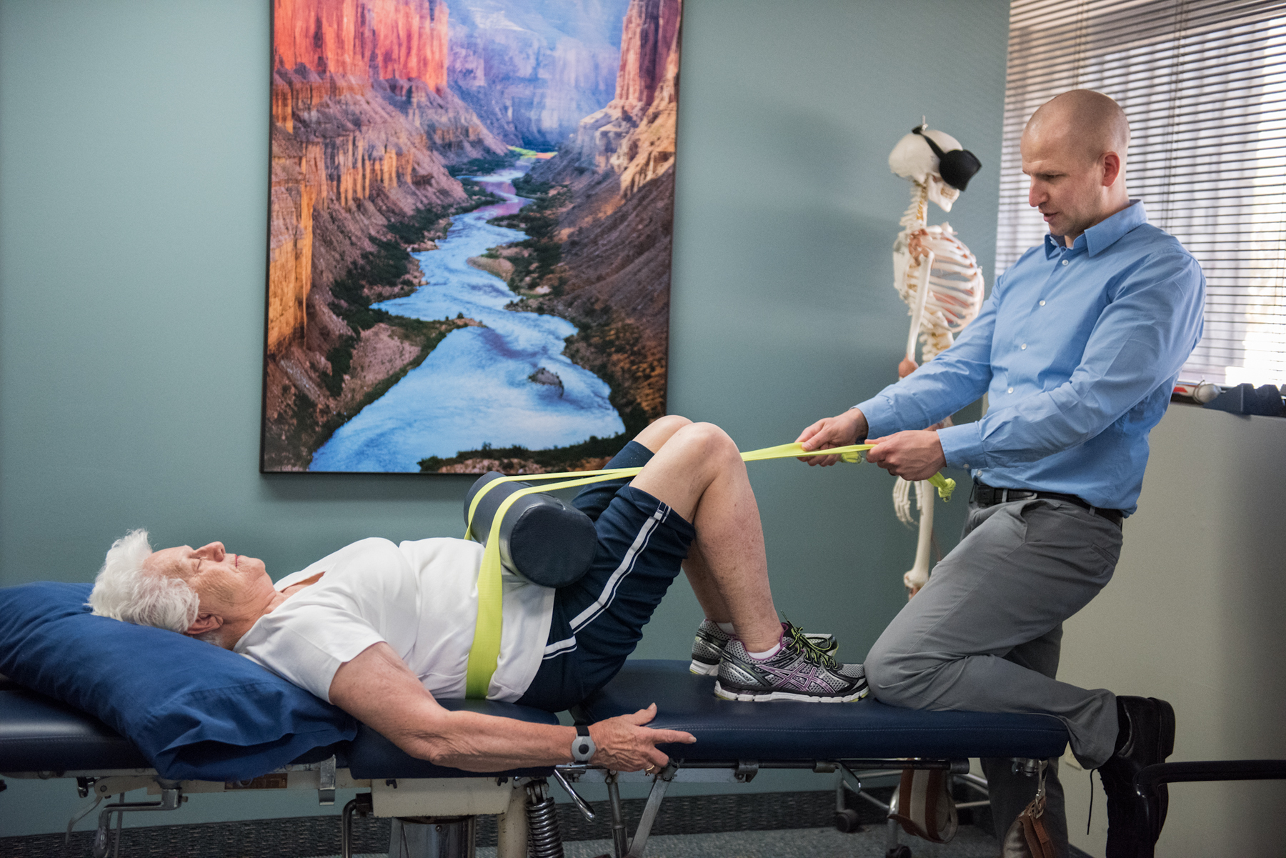Spinal stabilization exercise