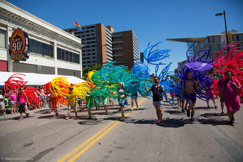 Twin Cities Pride parade, Minneapolis