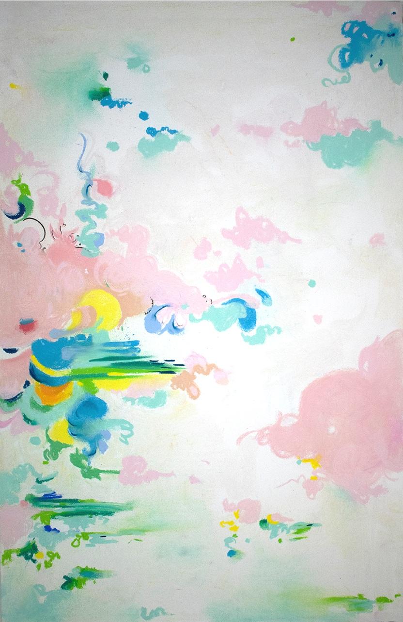 pastel on handmade paper, Crystal Hartman 2018