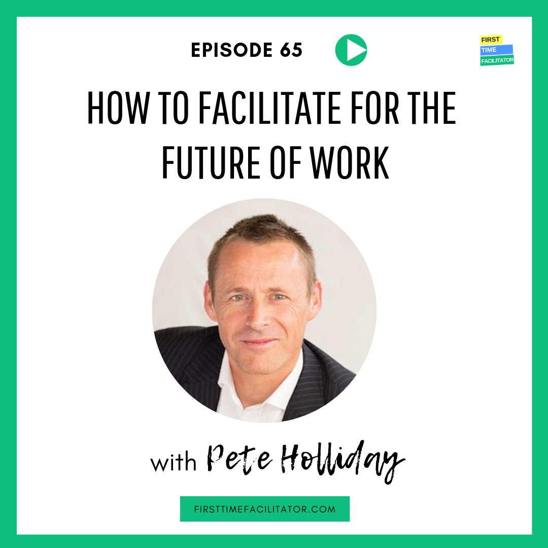 I was recently interviewed by Leanne Hughes from First Time Facilitator about designing organisations for the future of work. You can catch that conversation along with insights on vertical development and other tips on how to equip yourself and your organisation for the future of work.